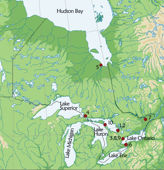 Map Of York Canada.Archaeology Canada Ontario Resource Document Some Historic