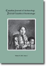 Canadian Journal of Archaeology Volume 37, Issue 2