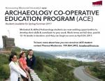 Announcing Memorial University's new Archaeology Co-operative Education Program