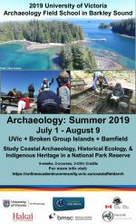 2019 UVic Archaeology Field School in Barkley Sound