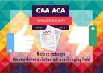 CAA Newsletter Survey