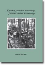 Canadian Journal of Archaeology Volume 39, Issue 1