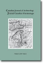 Canadian Journal of Archaeology Volume 41, Issue 2 • 2017