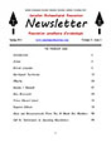 CAA Newsletter 2013 Volume 31 • Issue 1