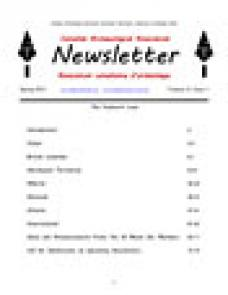 CAA Newsletter 2014 Volume 32 • Issue 1