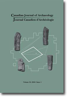 Journal canadien d'archéologie volume 30, numéro 1