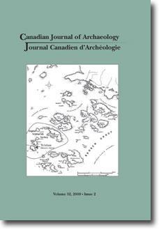 Journal canadien d'archéologie volume 32, numéro 2