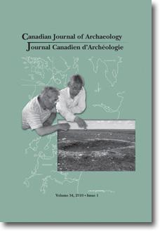 Canadian Journal of Archaeology Volume 34, Issue 1