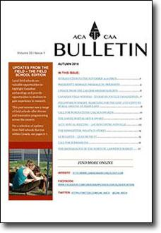 CAA/ACA Bulletin 2016 Volume 33 • Issue 1