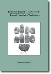 Canadian Journal of Archaeology Volume 40, Issue 2 • 2016