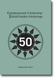 Canadian Journal of Archaeology Volume 42, Issue 1 • 2018