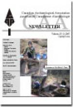 CAA Newsletter Volume 27 Issue 1