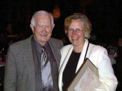 Jim Pendergast and CAA Past President Mima Kapches